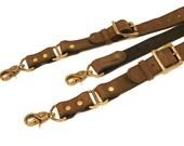 Custom Leather Suspender for Dan Ellis