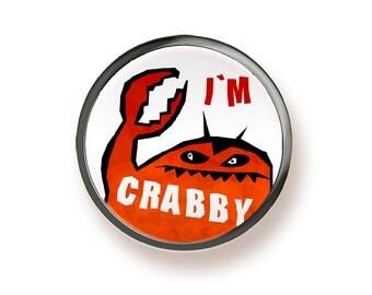 I'm Crabby - button