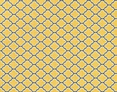 CLEARANCE 1.5 Yards Joel Dewberry Aviary 2 Lodge Lattice in Vintage Yellow Fabric