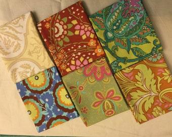 Rowan/ Westminster Fabrics Fat Quarter Set of 6 Amy Butler Prints