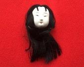 Japanese Doll Head - Vintage Doll Head -  Hina Matsuri Japanese Doll Festival Girl's Head D12-1