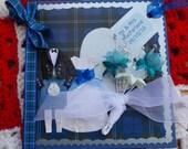 Something Blue Wedding Card for Jade
