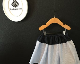 Will fit Size 12 month to 3T - READY to MAIL - Children Skirt - Michael Miller - by Boutique Mia