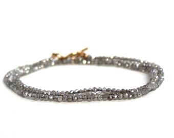 Mystic Labradorite/Labradorite Necklace/Labradorite Bracelet/Beaded Jewelry/Beaded Necklace/Beaded Bracelet/Gift for Mom/Gift Ideas/Necklace
