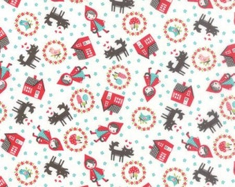 Lil' Red - From Stacy Iset Hsu - For Moda - Cloud (20503 11) - 9.75 For One Yard