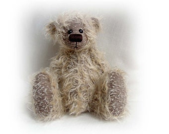 Artist bear Dimples OOAK bear e-pattern by Jenny Lee of JennyLovesBenny Bears