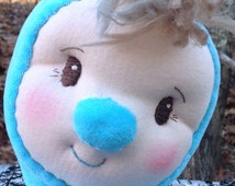 Little Jack Frost, a one of a kind Waldorf Snuggle Doll