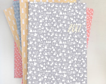 2017 monthly planner with cover choices