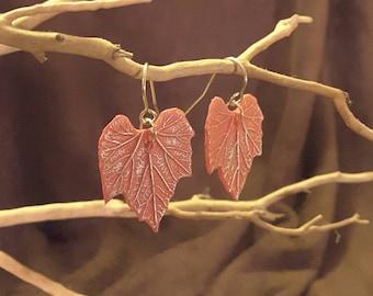 Gourd Leaf Earrings