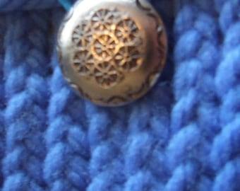 Cornflower blue  Mini  Knit Bag and gadget case