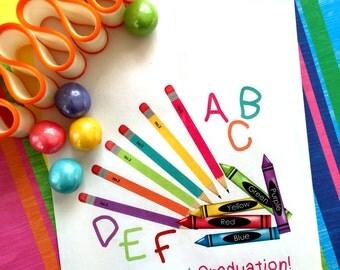 Preschool graduation favor Bags, Preschool Treat Bags, Schools out Favor, End of year treat, Favor bags, Birthday party, Sweets, Treats