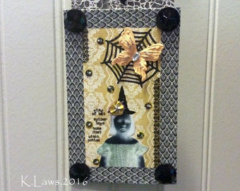 Handmade Wall Hanging On Wood - NO436