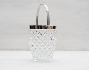 Vintage Ice Bucket 1960s For Kitchen Decor