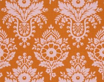 Lulu Persimmon - Up Parasol - FreeSpirit - Heather Bailey - Flowers Pink Orange Traditional