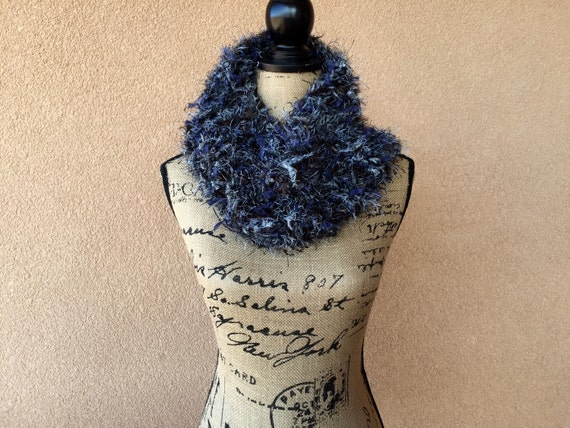 Cowl Scarf Circle Scarf Girlfriend Gift for Her Soft Gift for Wife Gift Blue Black Grey Brown Scarf Accessories