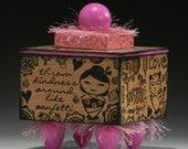 Box, Handmade Box, Kawaii, Asian Girls, Friendship Box