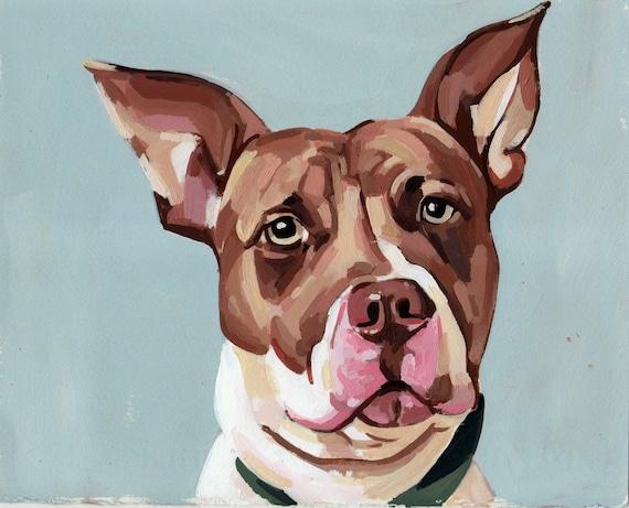 "Custom Pet Portrait 8x10"""