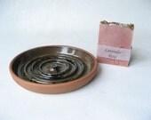 Soap Dish with Handmade Soap