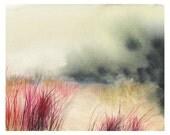 Dune - Print of Original Watercolor