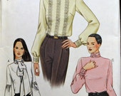Vogue Sewing Pattern 7604 Misses' Blouses  Size 14-18 Bust 36-40 inches Uncut Complete