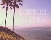 Custom Order for aishadharma