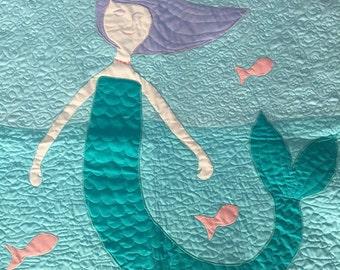 Child Mermaid Quilt