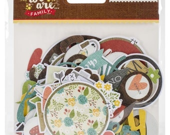We Are Family Bits & Pieces Die-Cuts 64/Pkg
