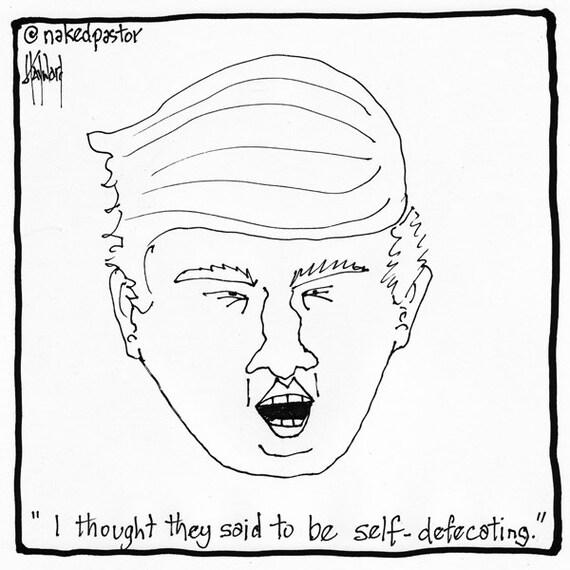 Self deprecating humor dating