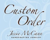 """Custom Order for rkaw - Sterling Silver 3/4"""" Bar Earrings with Pearl"""