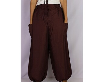 Boho Hippie  Rayon Elastic Waist Long Aladdin Summer pants (AP011)