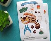 Forest Friends Sticker Sheet