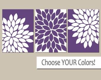 Purple Wall Art Girl Bedroom Pictures Canvas Or Prints Purple Bathroom Artwork