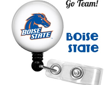 ID reel with MYLAR covering... Boise State