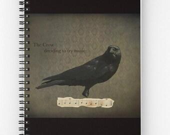 Black Crow, Cards, Notebook, Tote Bag, Drawstring Bag, Gothic, Choose your item