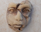 handmade bisque face