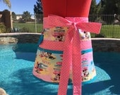 Ready to Ship, Plus Size Sassy Teachers Half Apron, Utility, Back to School, Great for Vendors, Gardening, Surf's Up