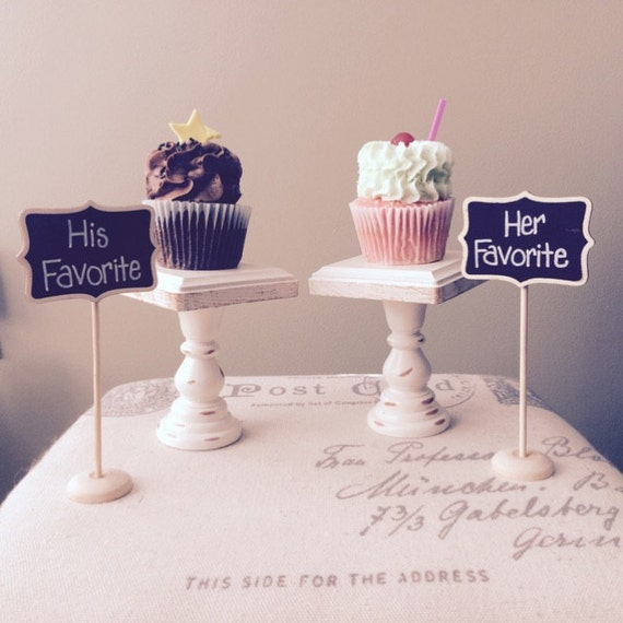 mini cake stand wood cupcake or mini cake stand pedestal choose your color 4 5918