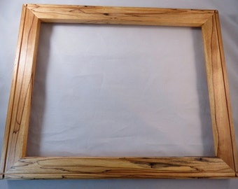 11x14 Spalted Yellow Birch Picture Frame EE