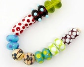 8 Pairs Lampwork Beads Bracelet Earrings Necklace 16 beads
