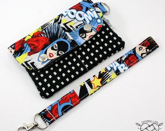 Wallet Wristlet Clutch SMALL Batgirl Killing Joke