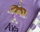 Back in STOCK...... Personalized Purple Girls Summer Short Sleeve Spring Pajama Sets Choose Applique
