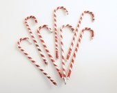 Vintage Christmas Ornaments Candy Canes Package Decorations