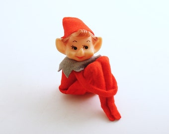 Vintage Christmas Decoration Pixie Kneehugger