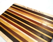 Large Engraved Cutting Board - Personalized Gift, Wedding, Anniversary, Custom - Monogrammed Family Established