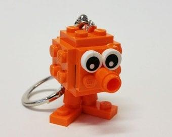 Q bit Keychain