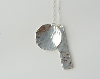Avery - Geometric Sterling Silver Charm Necklace