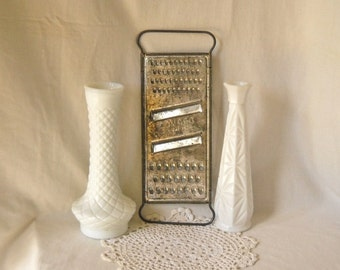 Vintage Bromco Grater Stainless Steel Cheese Grater