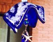Blue Glass Bell Starfish