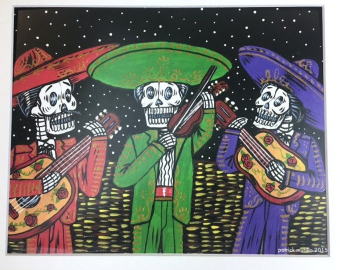 Mariachi Trio Print