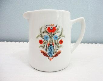 Vintage Berggren Small Swedish Porcelain Creamer/Pitcher